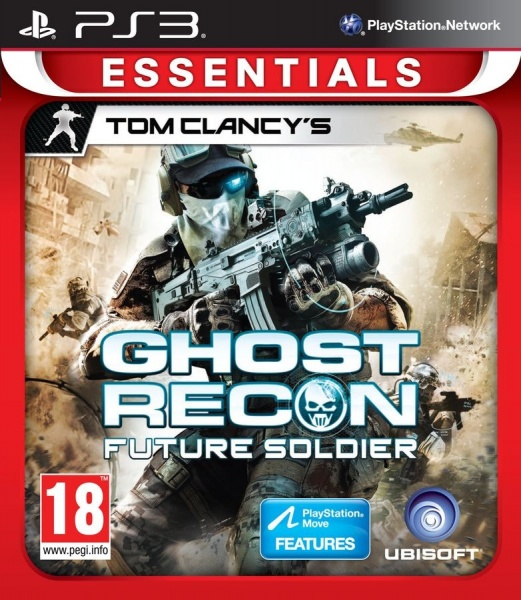 PS3 - TC Ghost Recon Future Soldier Essentials