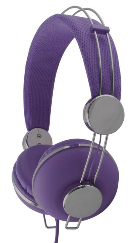 Esperanza EH149V MACAU Stereo sluchátka, skládací, ovl. hlasitosti, 3m