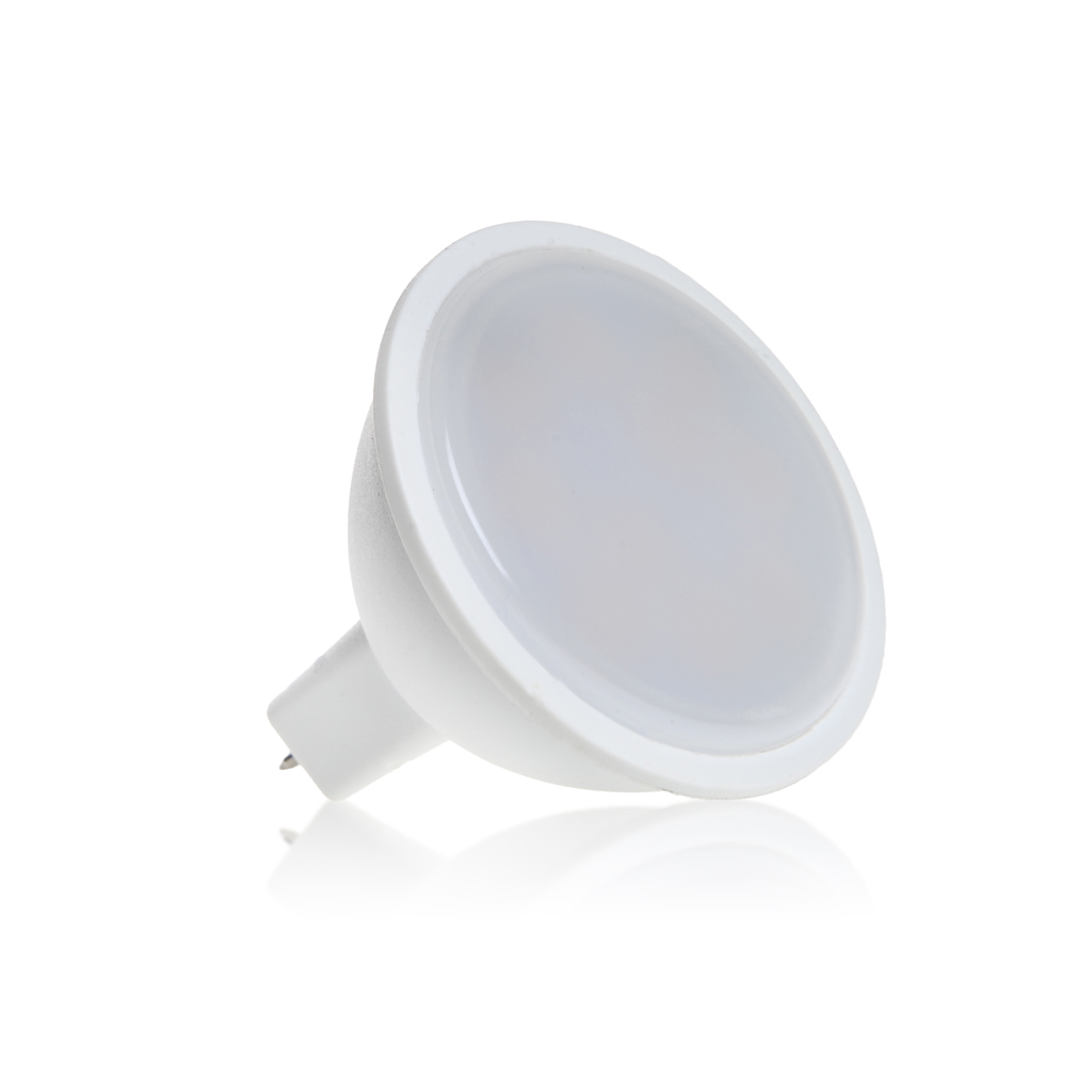 WE LED žárovka SMD2835 MR16 GU5.3 3W bílá mléčná