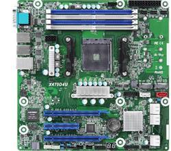 ASRock Rack X470D4U AM4, 4x DDR4 ECC, 6x SATA, 2x M.2(22110), 3x PCIe, 2x LAN, IPMI