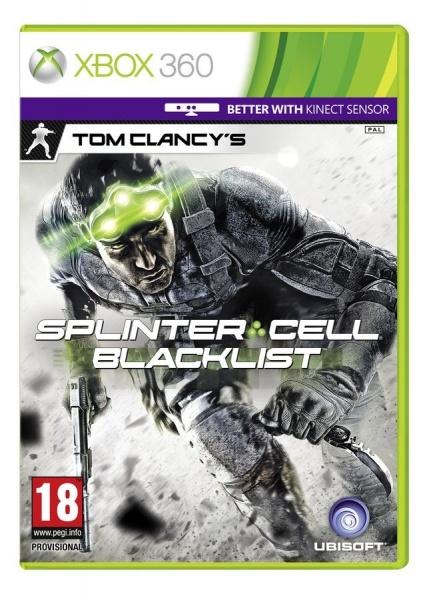 X360 - TC Splinter Cell Blacklist