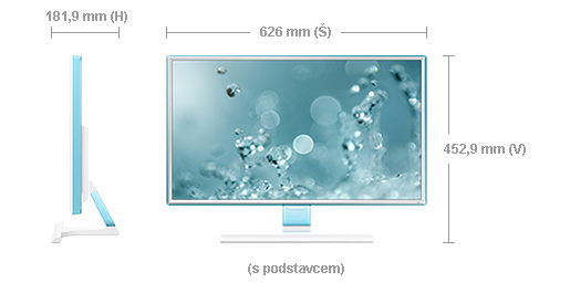 "Samsung LED LCD 27"" S27E391 - PLS/1920x1080/1000:1/4ms/300cd/D-SUB/HDMI/bílý"