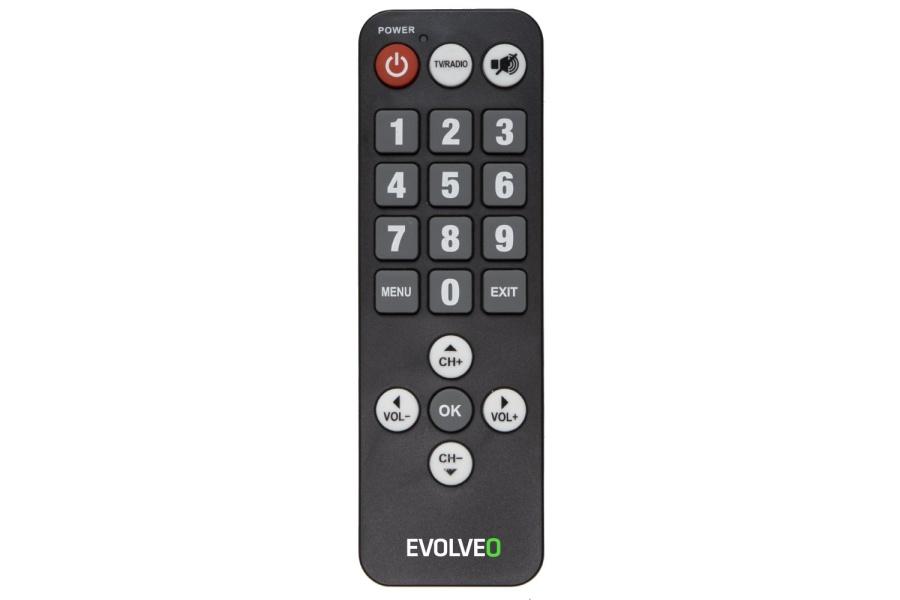 EVOLVEO Seniorský dálkový ovladač pro Alpha T2 a Omega II