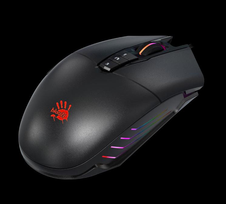 A4tech BLOODY P91, herní myš, 5000DPI, USB, Core 3