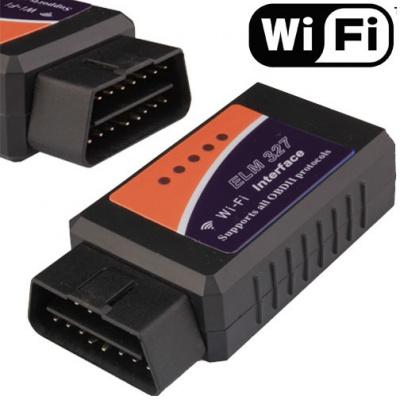 Automobilová diagnostická WIFI jednotka pro OBD II pro Apple,Android, Windows phone (ekv.ELM 327)