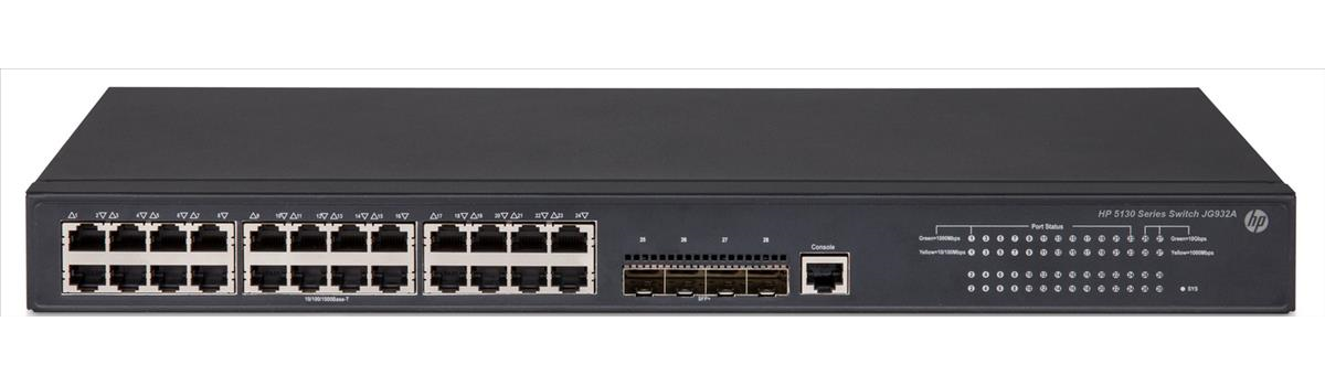 HP 5130-24G-4SFP+ EI Rfrbd Switch