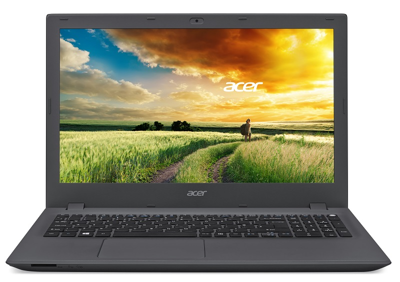 "Acer Aspire E 15 (E5-573-P3UA) Pentium3825U/4GB+N/500GB+N/HD Graphics/DVD-RW/15,6"" FHD LED/BT/W 8.1/Charcoal Gray"