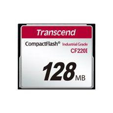 Transcend paměťová karta CompactFlash 128MB industrial (UDMA5)