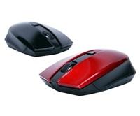 Zalman myš ZM-M520W, bezdrátová optická, 1600DPI, USB, 4tl., red