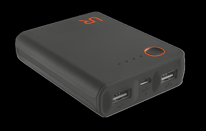 TRUST Cinco PowerBank 10400 Portable Charger