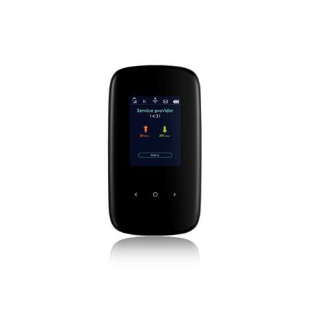 Zyxel LTE2566-M634 LTE-A Portable Router, 802.11 AC WiFi, B1/B3/B7/B8/B20/B28a/B38/B40/B41