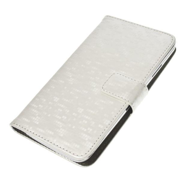 "Aligator Pouzdro BOOK GLAMMY M (4""- 4,5"") White"