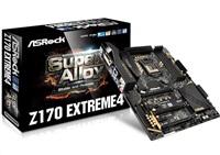 ASRock Z170 EXTREME4, 1151, Z170, 4 x DDR4, 6 x SATA3, GLAN, DVI-D/HDMI, USB3.0, ATX