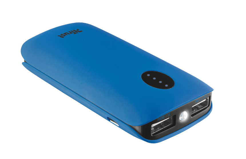 TRUST Leon PowerBank 5200 - blue