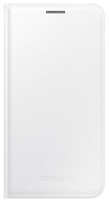 Samsung flip. pouzdro pro Galaxy J5, bílá