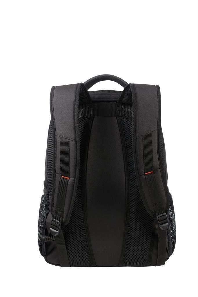 SAMSONITE 33G-39-003 Backpack American T. 33G39003 ATWORK 17,3 comp, doc, tblt, black/orange