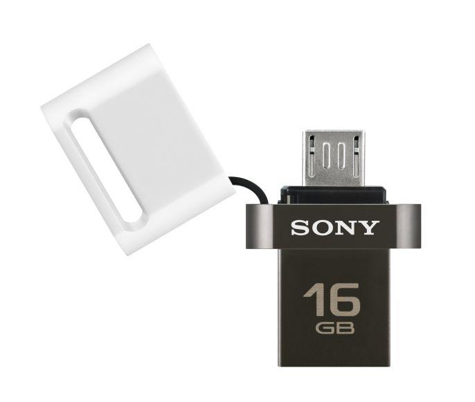 SONY Flash disk USM16SA3 Duo USB 3.0 barva bílá, kapacita 16GB