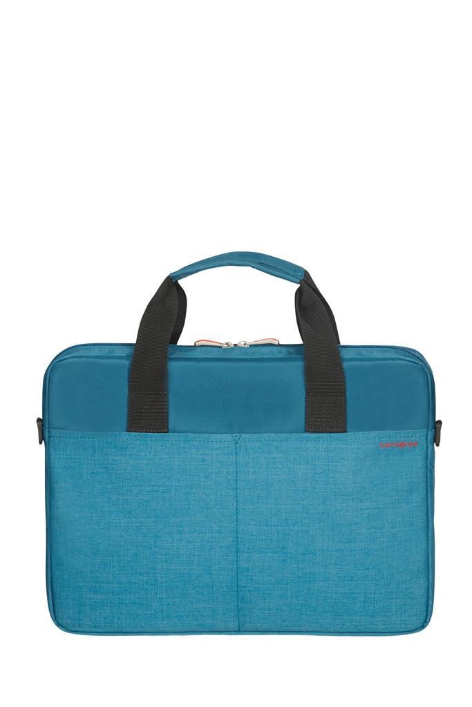 SAMSONITE CT3-21-002 Case SAMSONITE CT321002 SIDEWAYS 2.0 14,1 comp, pock, topload., MOROCCAN BLUE