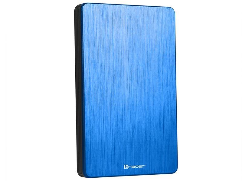 TRACER TRAOBD46398 Tracer 724 AL externí box pro HDD USB 3.0 HDD 2.5 SATA modrá