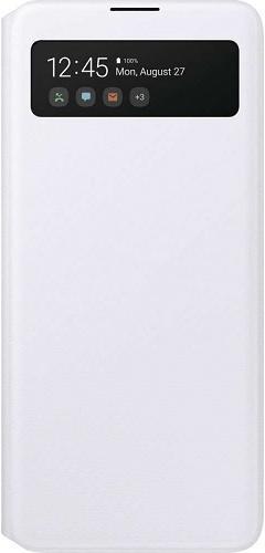 Samsung Flipové pouzdro S View Galaxy A71 White