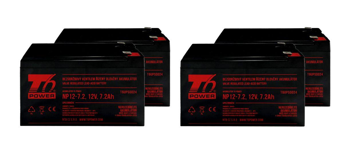 T6 Power RBC8, RBC23, RBC25, RBC31, RBC59 - battery KIT