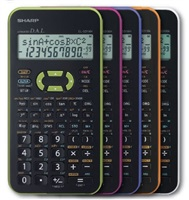 SHARP kalkulačka - EL531XHWHC - bílá
