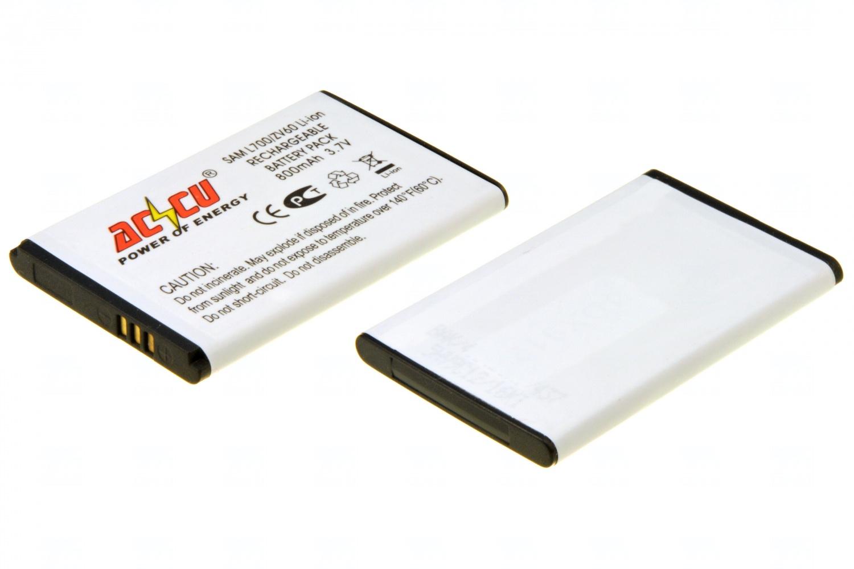 Baterie Accu pro Samsung SGH L700, SGH P260, SGH P220, SGH ZV60, Li-ion, 1000mAh