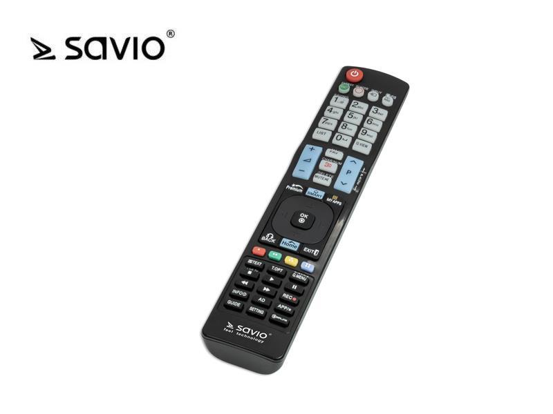 SAVIO RC-11 SAVIO RC-11 Univerzální dálkový ovladač pro televizory LG 3D