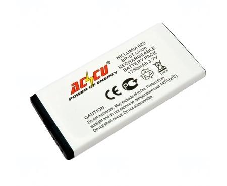 Baterie Accu pro Nokia Lumia 820, Li-ion, 1750mAh