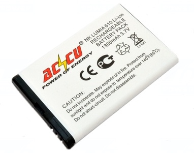 Baterie Accu pro Nokia Lumia 710, Li-ion, 1300mAh