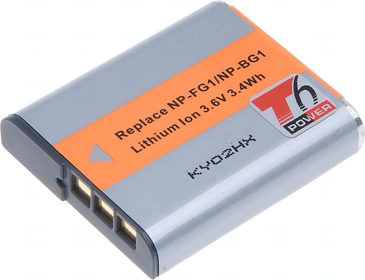 Baterie T6 power Sony NP-BG1, 950mAh, šedá