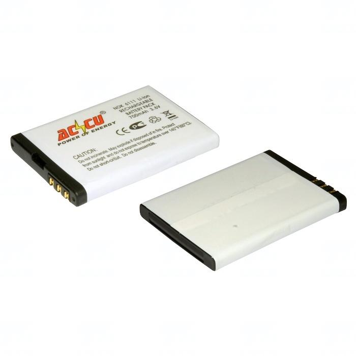 Baterie Accu pro Nokia 6111, 7370, 7373, Li-ion, 750mAh