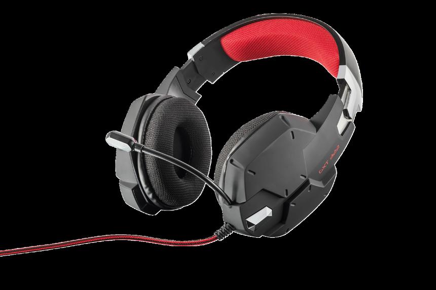 náhlavní sada TRUST GXT322 Dynamic Headset - black