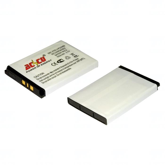 Baterie Accu pro Sony Ericsson K750, D750, J110i, J120i, J220, J230, K200i, K600i, Li-ion, 1000mAh