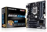 GIGABYTE MB Sc LGA1150 B85M-D3H-A, Intel B85, 4xDDR3, VGA, mATX