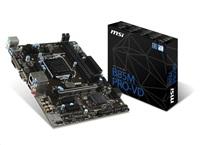MSI MB Sc LGA1150 B85M PRO-VD, Intel B85, 2xDDR3, VGA+DVI, GbLAN, mATX
