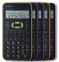 SHARP kalkulačka - EL531XHVLC - fialová