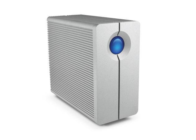 LaCie 2big Quadra 6TB externí HDD, USB 3.0, FireWire 800, RAID 0/1