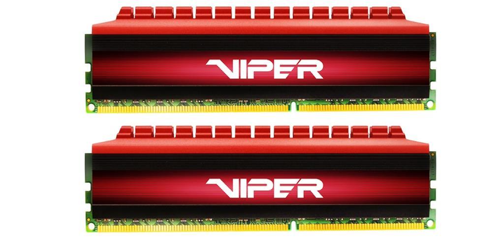 Patriot Viper 4 Series paměť, DDR4 16GB (2x8GB) 3000MHz Kit