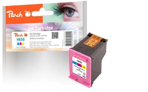 PEACH kompatibilní cartridge HP No.650, CZ102AE, 7.1 ml, barevná
