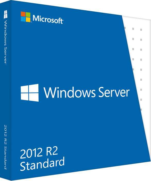 Windows Svr Std 2012 R2 64Bit Czech DVD 5 Clt