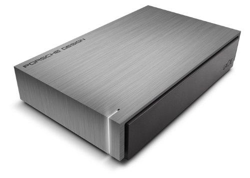 Ext. HDD LaCie Porsche Design Desktop 4TB tm.šedá