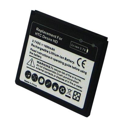 Baterie Accu pro HTC Desire HD, Li-ion, 1500mAh