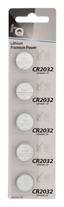 CR2032 HQ - lithiová baterie - 5 ks