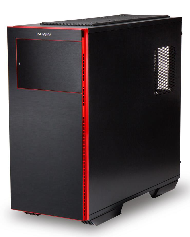 E-ATX skříň In Win 707 Black/Red