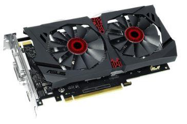 ASUS GeForce GTX 950 OC, 2GB GDDR5 (128 Bit), HDMI, 2xDVI, DP