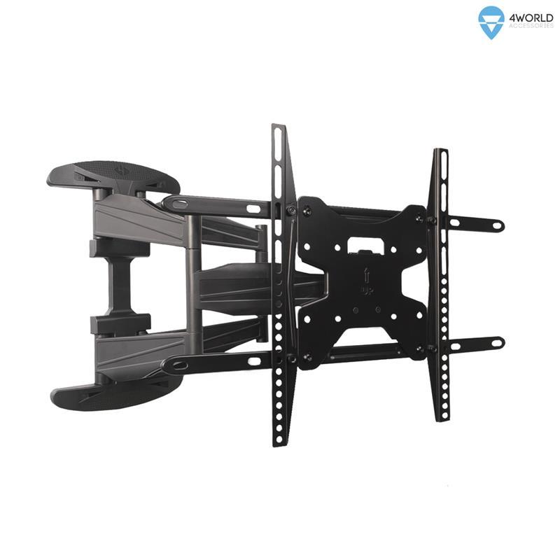 4World Otočný a sklopný držák pro LCD 42-79'' nosnost max. 60kg BLK