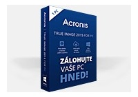 Acronis True Image 2016 - 1 Computer - Upgrade BOX CZ