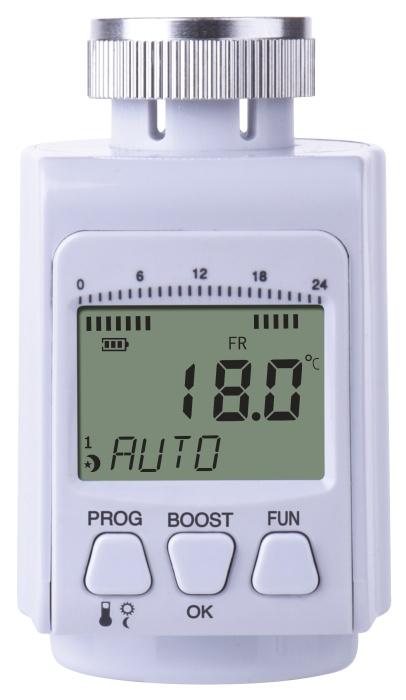 Emos T30 termostatická hlavice digitální, programovatelná
