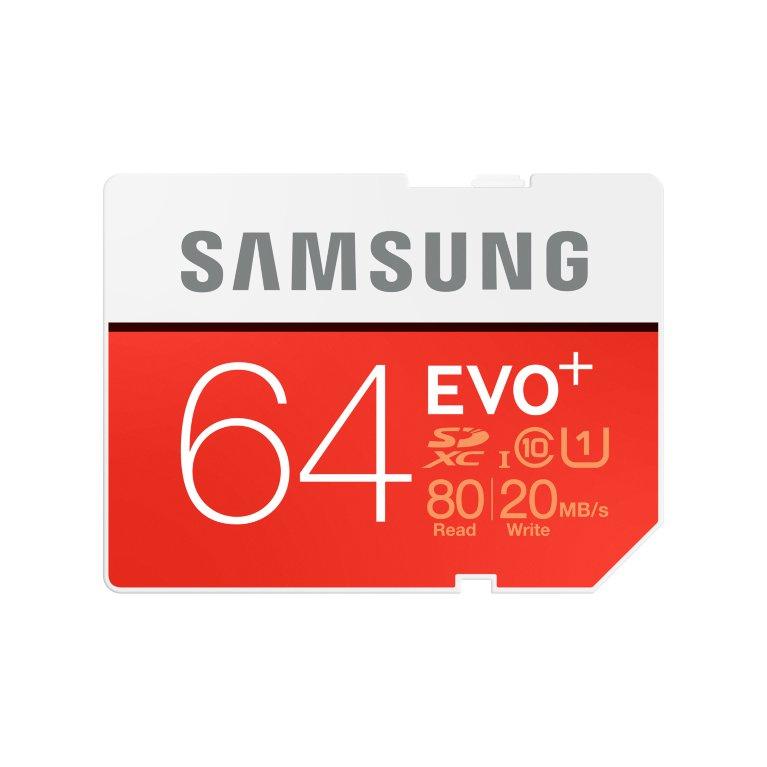 Samsung SDHC karta 64GB EVO Plus (Class 10 UHS-I)